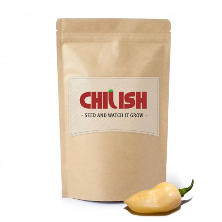 Hvid Ghost Chili Seeds - Bhut Jolokia